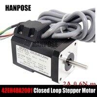 Hybrid Step servo motor NEMA 17 Stepper Motor 17HS4401 17hs8401 2A and HBS57 Closed Loop Servo Driver CNC Controller