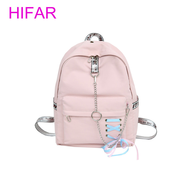 Canvas Backpack Women Fashion Backbags For