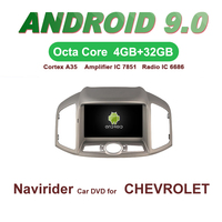 Navirider GPS Android 9.0 bluetooth stereo 4 Core 8 Core car DVD player for CHEVROLET CAPTIVA 2012 13 unit autoradio accessories