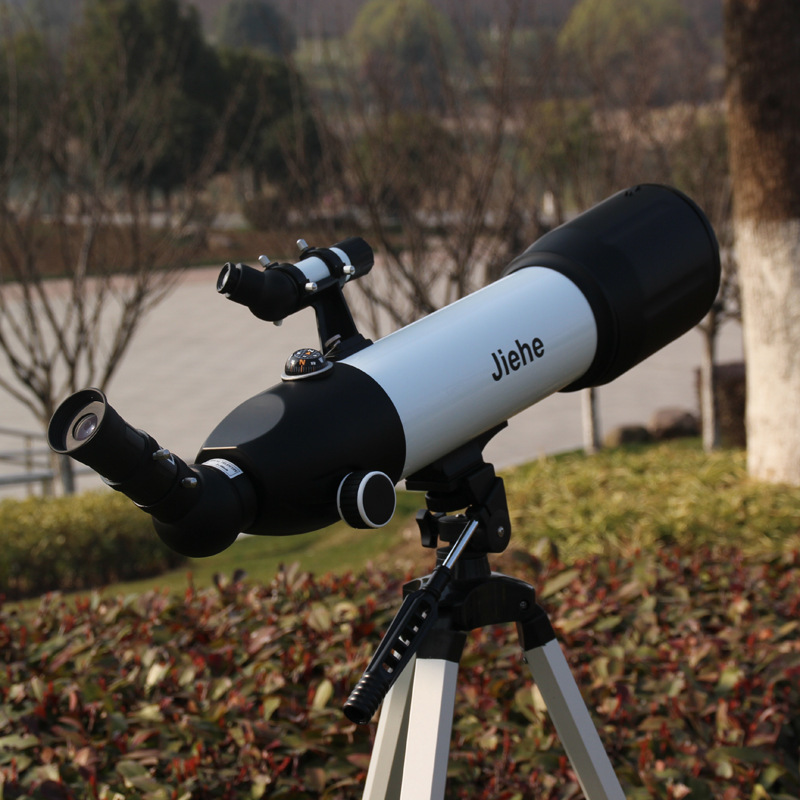 Refractor 80500(500 / 80 mm) Space Astronomical Telescope Spotting scopes  Monocular Astronomical Telescope Outer Space brand new f90060m 900 60mm monocular refractor space astronomical telescope spotting scope 45x 675x