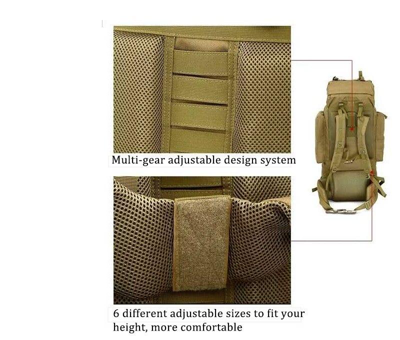 Tactical backpacks capacity Stop118