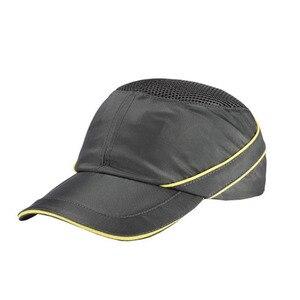 Image 4 - Mevsimlik nefes çalışma emniyet kaskı yumru şapka moda rahat güvenlik Anti darbe hafif kask güneş koruyucu koruyucu şapka