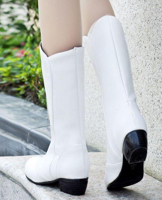 Free shipping sexy half short boots women snow flat winter warm footwear high heel shoes boot P14813 EUR size 34-43