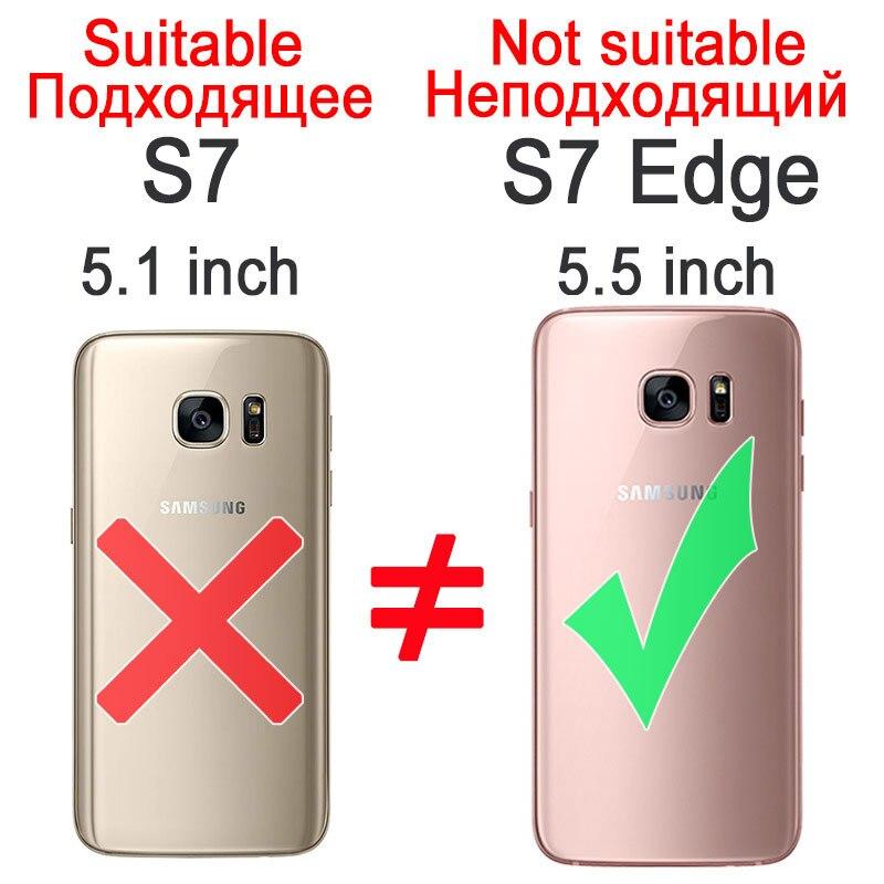 Kolorowe case do samsung galaxy s7 edge s8 plus s8 case gradientu kolor pc mocno plecy pokrywa dla samsung s8 s7 krawędzi case artisome 1