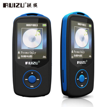 "Bluetooth Sport MP3 Music Player RUIZU X06 Wireless Lecteur with 4GB 1.8"" Screen / 100Hours High Quality Lossless Recorder FM"