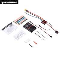 QuicRun WP Crawler Brush Brushed 1080 80A ESC Electronic 1/10 1/8 Speed Controller Waterproof ESC With Program Box