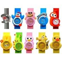 Детские часы 3D мультфильм дети наручные часы Детские часы кварцевые часы для мальчиков и девочек Подарки