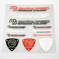 Car Styling Customized 3D Label Sticker MS Mazda Speed Car Logo Auto Racing Vinyl Wrap Sticker Decals Motorcycle Accessories
