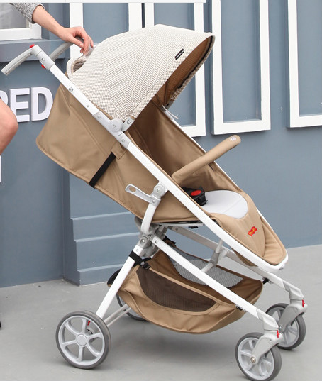 High landscape deck can sit reclining stroller collapsible baby stroller four baby trolley children's cart