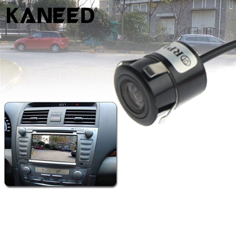 Waterproof Wireless Transmitting Receiving Punch DVD Rear View Camera With Scaleplate Support Installed in Car DVD Navigator