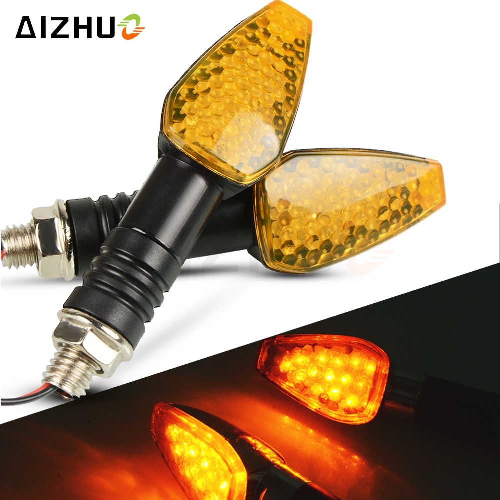 Motorcycle Turn Signal Light 12V LED Indicators Blinker Lamp For YAMAHA XSR900 XT660R XJ6 NMAX 155 WR250R XT 125 TMAX 530 500