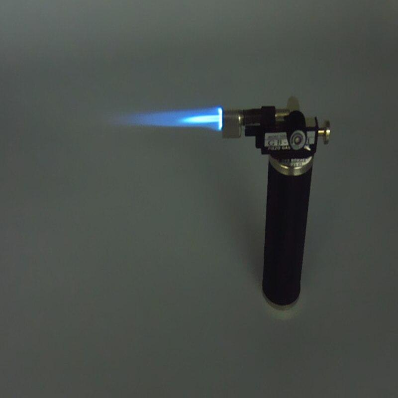Kostenloser Versand Micro gas torch GB2001, fire fackel leichter, schmuck silber schmelzen solering werkzeug, gold testing taschenlampe, Creme Brulee