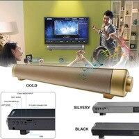 Enhanced TV Remote Control Soundbar BT Speaker LP 08soundbar Card Plugging Bluetooth Speaker MP3 Player Bluetooth