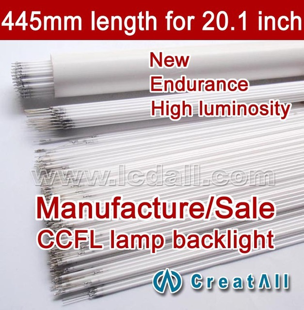 20pcs 20.1'' inch wide sreen LCD CCFL lamp backlight tube,445MM 2.4mm, 446MM 443mm,20.1 inch wide sreen CCFL light
