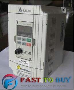 Delta Inversor 2.2KW 3HP VFD Unidade de Freqüência Variável 1 Fase 220 V 0.1 ~ 400Hz VFD022M21A Para Moagem & máquina do Woodworking