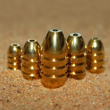 MNFT 1 Pack BRASS BULLET SINKERS For Texas Rig Fishing Bullet Shape Copper Soft Lure Bait Weight Sinkers 1.8g 3.5g 5g 7g 10g