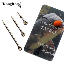 20PCS Metal Phoxinus Bait Spike Carp Fishing Hook Bait Sting Boilies Pin Spike M
