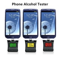 2pcs Lot Alcohol Breathalyzer Professional Police Digital Breath Alcohol Tester For IPhone 5 IPad4 IPad Mini