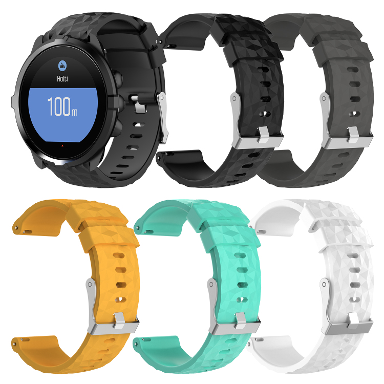 Gengshi 24mm Silicone watch band Bracelet Strap For Makibes G07 Smart SPORT Watch