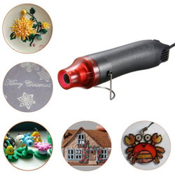Heat Gun Electric Power Tool Hot Air 220V 300W Temperature Gun With Supporting Seat Shrink Plastic FIMO dinks DIY 858