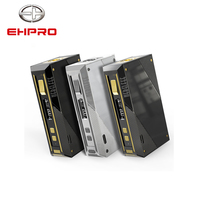 EHPRO Cold Steel 200W Box Mod Vape Electronic Cigarette with Display Screen External Battery 18650 Stainless Steel TC mods Ecig