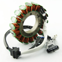 цена на Motorcycle Ignition Magneto Stator Coil for A400 KingQuad 400 ASi 4WD 2WD Special Edition Magneto Engine Stator Generator Coil