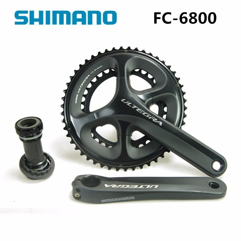 Shimano FC 6800 ULTEGRA 11 s 22 s шатуны 53 39 т 50 34 Т 170 мм 172,5 мм велосипед Компоненты цепь для дорожного велосипеда колесо аксессуар Запчасти