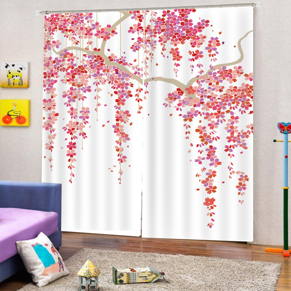 Simple Tree vine Custom Curtains 3d Curtain For The Living Room Bedroom Hotel Window Curtains 2019    Simple Tree vine Custom Curtains 3d Curtain For The Living Room Bedroom Hotel Window Curtains 2019