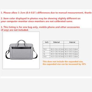 Image 5 - צריך רצועת שרוול מקרה עבור מחשב נייד 13 14 15 15.6 אינץ, תיק עבור Macbook Air Pro 13.3 15.4 תיק תיק עבור Dell HP סמסונג