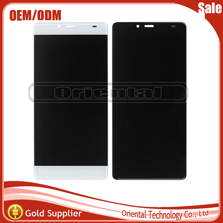 все цены на  For Elephone S3 LCD Display withTouch Screen Digitizer Assembly Spare Parts free shipping White/Black free shipping  онлайн