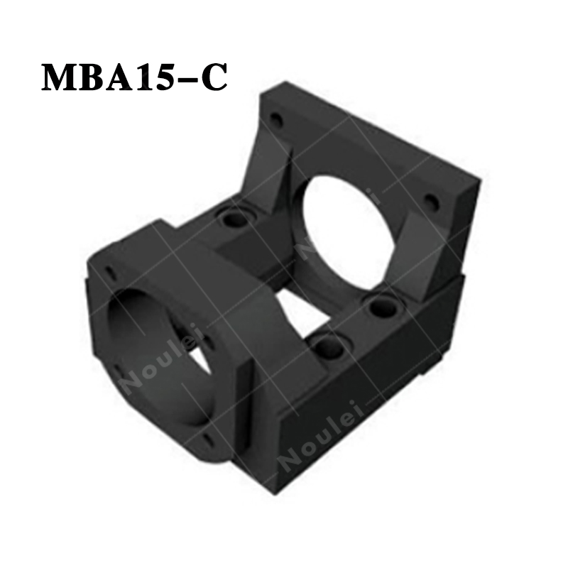 Motor Bracket MBA type ( MBA15 ) MBA15-C Black for NEMA23 and FKA15 suitable for ball screw 20 diameter peter economy complete mba for dummies