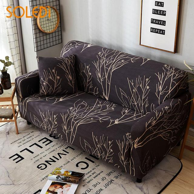 Polyester Soft Sofa Throw Renew 3 Sizes Protector Slipcover Drop Shipping