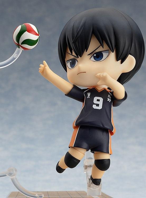 Huong Anime Figura 10 CM Nendoroid Haikyuu!! kageyama Tobio #489 PVC Action Figure Boneca de Brinquedo Esporte Brinquedo