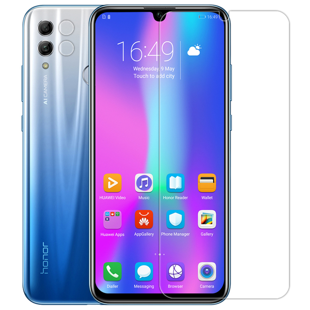 US $9 05 23% OFF For huawei honor 10 lite Glass Nillkin H+Pro 2 5D Round  Edge 0 2 mm Tempered Glass Screen Protector For honor 10 lite Cover-in  Phone