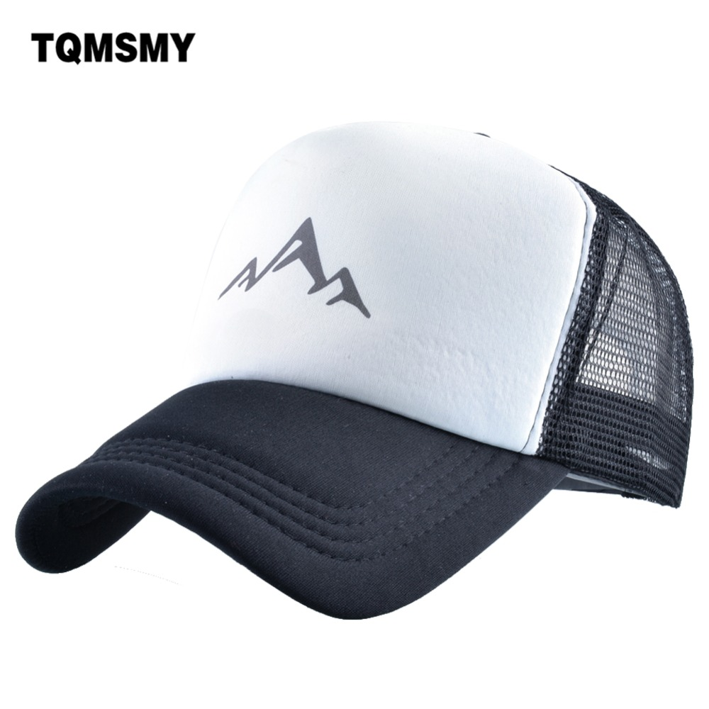 TQMSMY Summer Mountain Breathable   Baseball   Hat Men and Women   Baseball     Cap   Casual Men's Trucker Hat Adjustable Snapback Hat TMA67