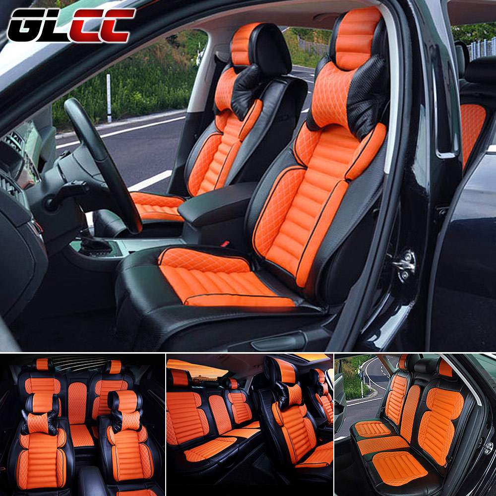 Luxury seat covers supports car seat cover microfiber for Automobile decoration accessories
