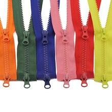 5# разъемная застежка-молния 80/90/100/120/150 см двойными собачками good Market пластик резиновые цветные молнии для одежды FC158
