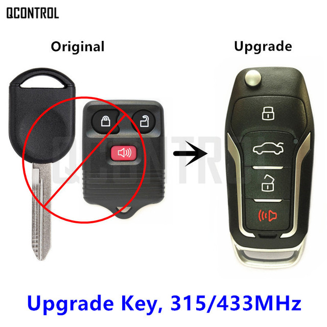 Qcontrol Remote Key Upgraded For Ford Mustang Explorer Expedition