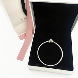 NEW Perfect Charms logo Engraved Braccialetto di fascino S925 Silver Bangles pandoras Bracelet jewelry Making femme chains girl