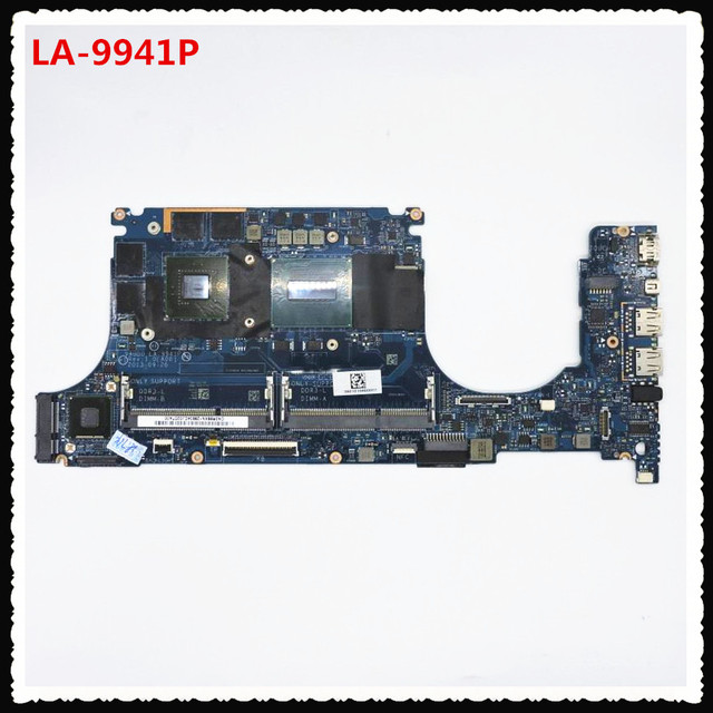 For DELL XPS 15 9530 Laptop motherboard I7 4712HQ CPU VAUB0 LA 9941P  Mainboard with 2GB Graphic card GT750M Test good