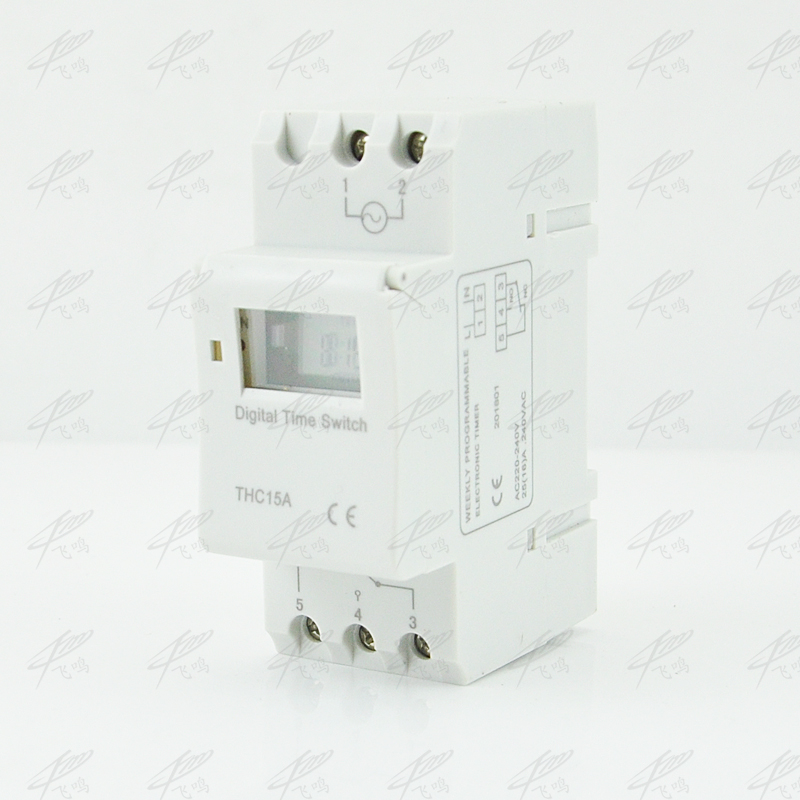 THC15A OKtimer Microcomputer Electronic Programmable Digital TIMER SWITCH Relay Control 12V 24v 110V 220V 16A Din Rail Mount new digital lcd programmable timer 12v dc din rail time relay switch power drop ship