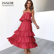 8903913f114 Women Sexy Sleeveless Solid Boob Tube Top Dress Evening Party Stretch  Knee-Length Dresses(