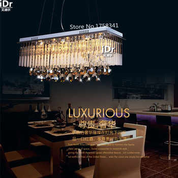 Modern First-class K9 Crystal Chandelier Lamp,The Rectangular Crystal Dining Chandelier Light Fixtures - DISCOUNT ITEM  60% OFF All Category