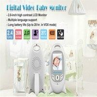 Infant Wireless Digital Video Baby Monitor Camera Surveillance Monitors Automatic Music Night Vision Temperature Nanny Monitor