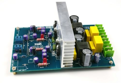 Assembled L15DX2 IRS2092 CLASS D stereo amplifier board IRAUDAMP7S 125W-500W кардиган s
