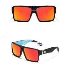 Classic Outdoor Shade Colorful Mirror Oversized Polarized Sunglasses Custom Made Myopia Minus Prescription Lens -1To-6