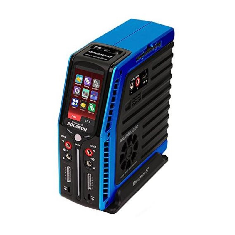 Graupner Polaron AC/DC 240W 7S 3 Color and Touch TFT (Blue) Charger мультиметр uyigao ac dc ua18