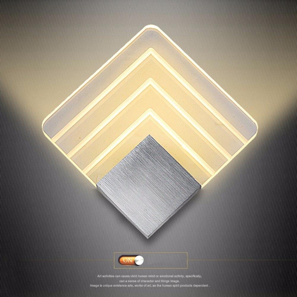 Europa Kommt In 7 Tage 5 watt Acryl Led Wand Lampe Badezimmer Licht ...