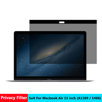 AIBOULLY Magnetic Privacy Filter Screens Protective Film For Macbook Air 13 Inch For Apple Laptop Model