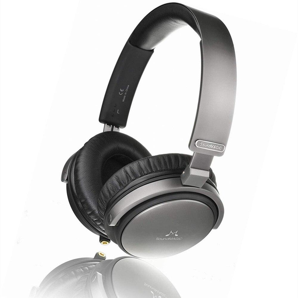 SoundMAGIC Vento P55 casque arrière fermé avec câble remplaçable et Microphone